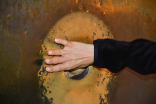アヤ・ソフィア 湿った支柱 一回転させると願いが叶うと言われるの写真素材 [FYI01562093]