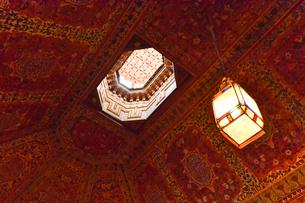 世界遺産マラケシュ旧市街バヒア宮殿の写真素材 [FYI01562261]