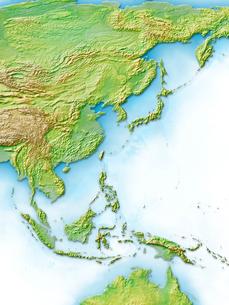 アジア日本近辺のイラスト素材 [FYI01562311]
