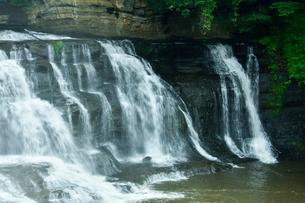 龍門の滝の写真素材 [FYI01562414]