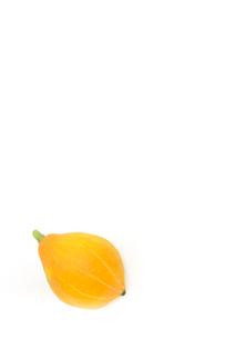 コリンキーカボチャ(黄色は生食用)の写真素材 [FYI01562417]