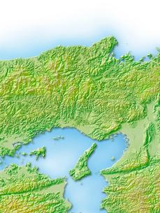 兵庫県地図のイラスト素材 [FYI01562462]