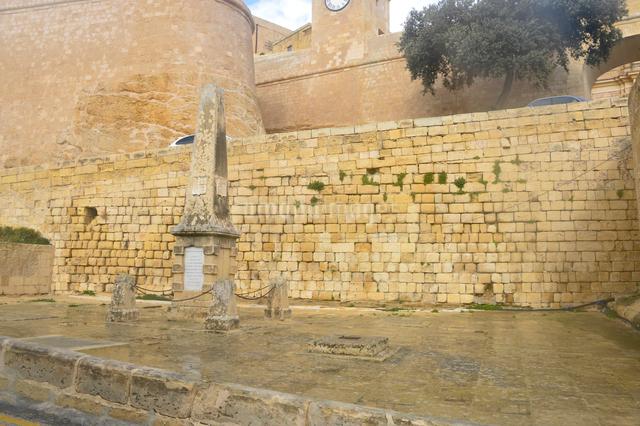 チタデル大城塞にある碑の写真素材 [FYI01562469]