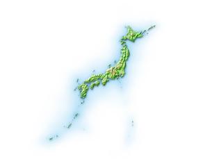 日本周辺地図のイラスト素材 [FYI01562491]