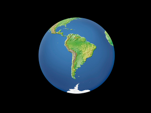 地球  南アメリカのイラスト素材 [FYI01562543]