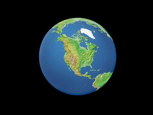 地球  北アメリカのイラスト素材 [FYI01562601]