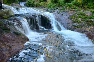 おしどり隠しの滝の写真素材 [FYI01562605]