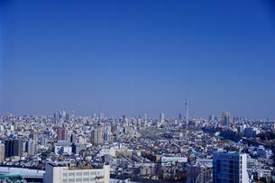 複合文化施設北とぴあから見た街の写真素材 [FYI01562606]