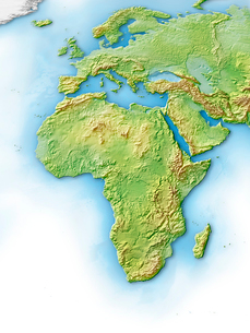 アフリカ大陸のイラスト素材 [FYI01562607]