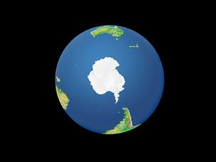 地球  南極のイラスト素材 [FYI01562692]