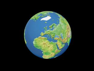地球  ヨーロッパのイラスト素材 [FYI01562713]