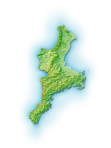 三重県地図のイラスト素材 [FYI01562727]