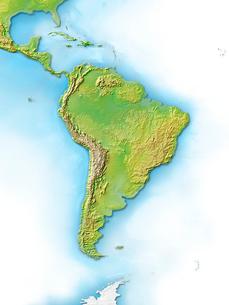 南アメリカ大陸,中南米のイラスト素材 [FYI01562734]