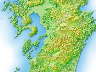 熊本県地図のイラスト素材 [FYI01562738]