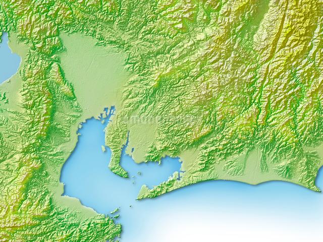 愛知県地図のイラスト素材 [FYI01562757]