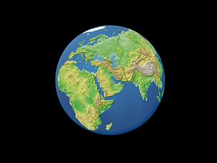 地球  中東のイラスト素材 [FYI01562821]