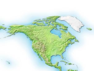 カナダ周辺地図のイラスト素材 [FYI01562827]