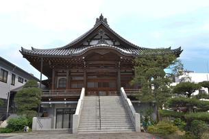 善光寺の別院の写真素材 [FYI01562874]