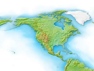 北アメリカ大陸のイラスト素材 [FYI01562955]