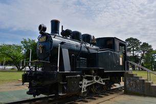 稲岸公園にある蒸気機関車の写真素材 [FYI01563083]
