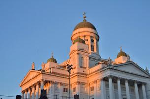 ヘルシンキ大聖堂の写真素材 [FYI01563287]