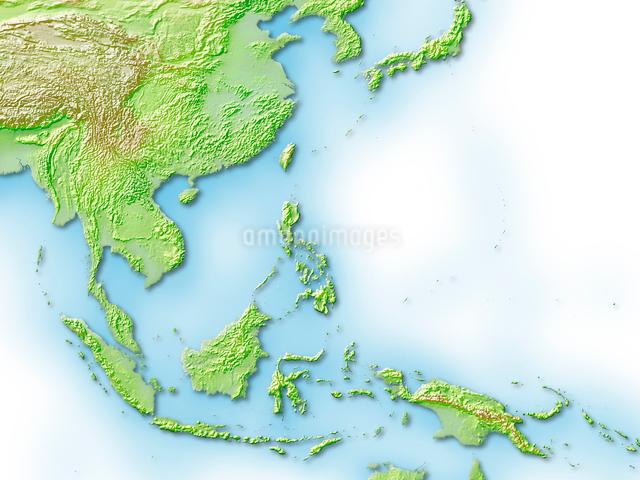 東南アジア周辺地図のイラスト素材 [FYI01563590]