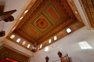 世界遺産マラケシュ旧市街バヒア宮殿の写真素材 [FYI01563644]