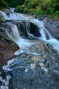 おしどり隠しの滝の写真素材 [FYI01563800]