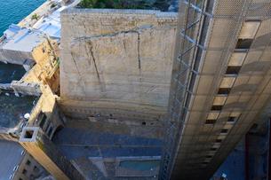 ヴァレッタにあるエレベーターの写真素材 [FYI01563816]