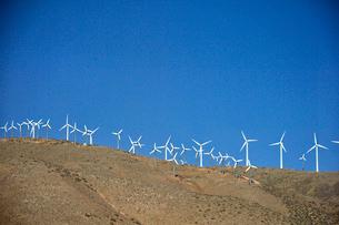 風車のある景観の写真素材 [FYI01564214]