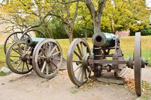 スオメンリンナ島にある砲台の写真素材 [FYI01564287]