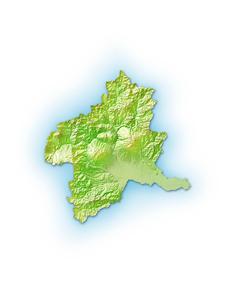 群馬県地図のイラスト素材 [FYI01564395]