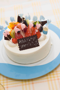 バースディケーキの写真素材 [FYI01564748]