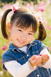 少女の顔アップの写真素材 [FYI01566263]