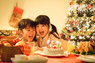 クリスマスの子どもの写真素材 [FYI01566523]