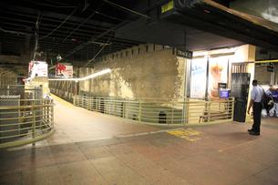 グランドセントラル駅 地下ホームの写真素材 [FYI01566644]