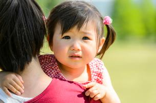 泣き顔の子どもの写真素材 [FYI01569476]