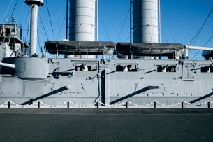 戦艦三笠の写真素材 [FYI01570225]