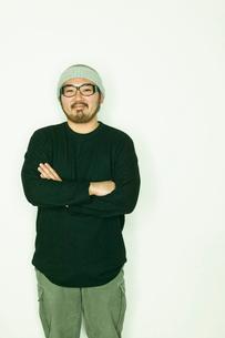 日本人男性のポートレートの写真素材 [FYI01570922]