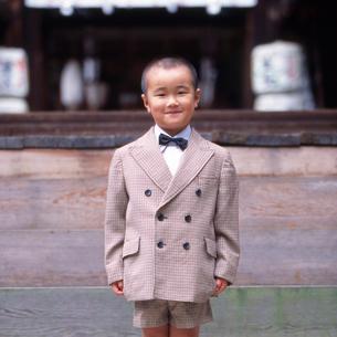 七五三の子供の写真素材 [FYI01570957]