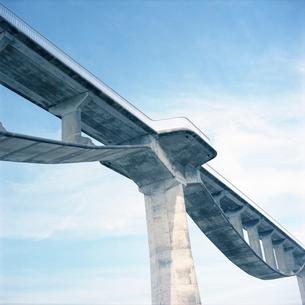 菊川河口の潮騒橋 自転車歩行者専用の写真素材 [FYI01571378]