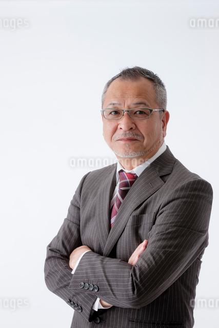 日本人ビジネスマンのポートレートの写真素材 [FYI01573184]