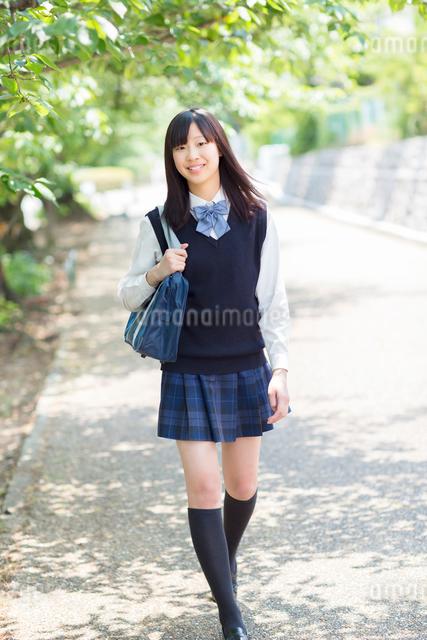 日本人の女子高生の写真素材 [FYI01573356]