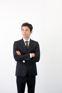 日本人ビジネスマンのポートレートの写真素材 [FYI01573451]
