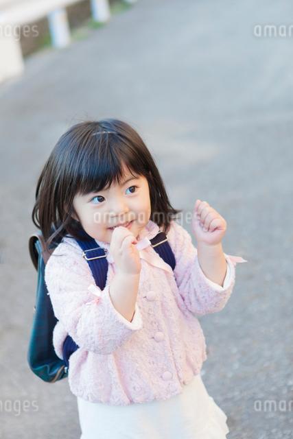 幼稚園児の女の子の写真素材 [FYI01574089]