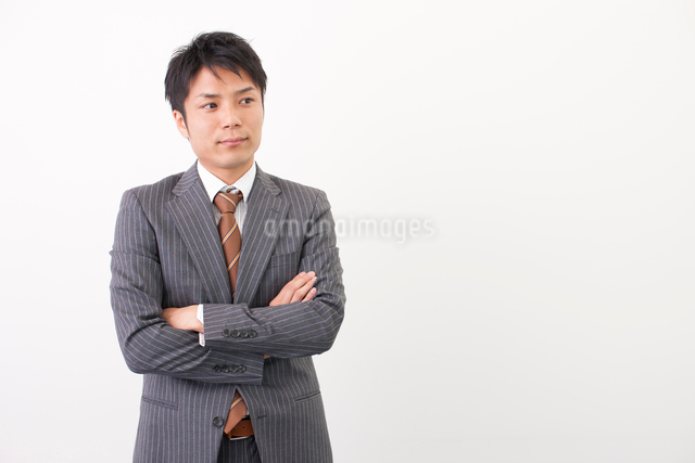 日本人のビジネスマンの写真素材 [FYI01574107]