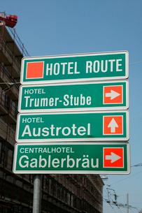 道路標識の写真素材 [FYI01580259]