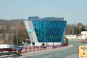 ザルツブルグ郊外の建物の写真素材 [FYI01580310]