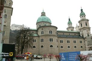 ザルツブルグ大聖堂の写真素材 [FYI01580380]