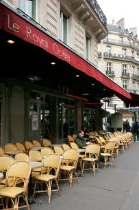 市内のカフェの写真素材 [FYI01580386]